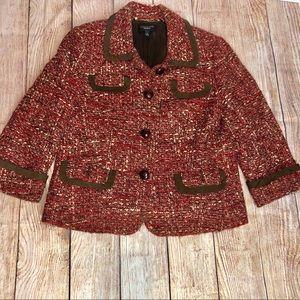 Talbots Tweed Jacket Blazer